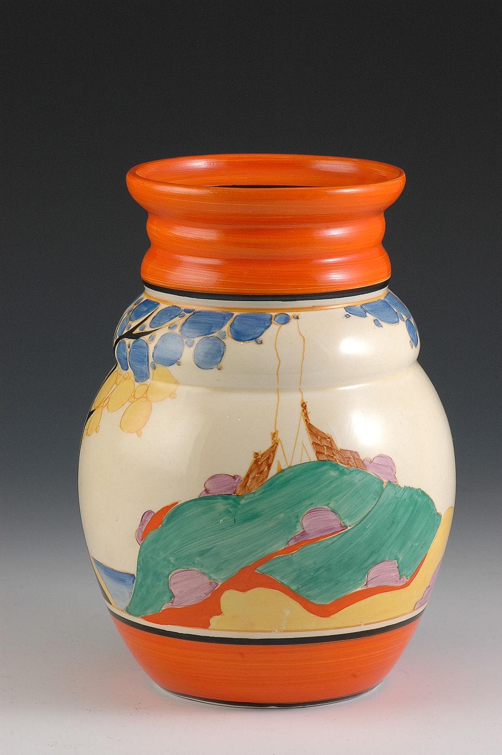 Orange secrets 358 vase for Orange vase
